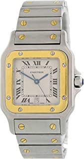 Cartier Santos Galbee Quartz Male Watch 1566 (Certified Pre-Owned)