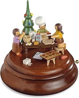 Müller Electronic Music Box, Christmas Bakery Rolf Zuchowski, Original Erzgebirge by Mueller Seiffen