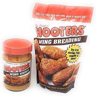 The Original Hooter's Wing Breading & Medium Wing Sauce