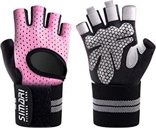 SIMARI Workout Gloves Men Women Full Finger Weight...
