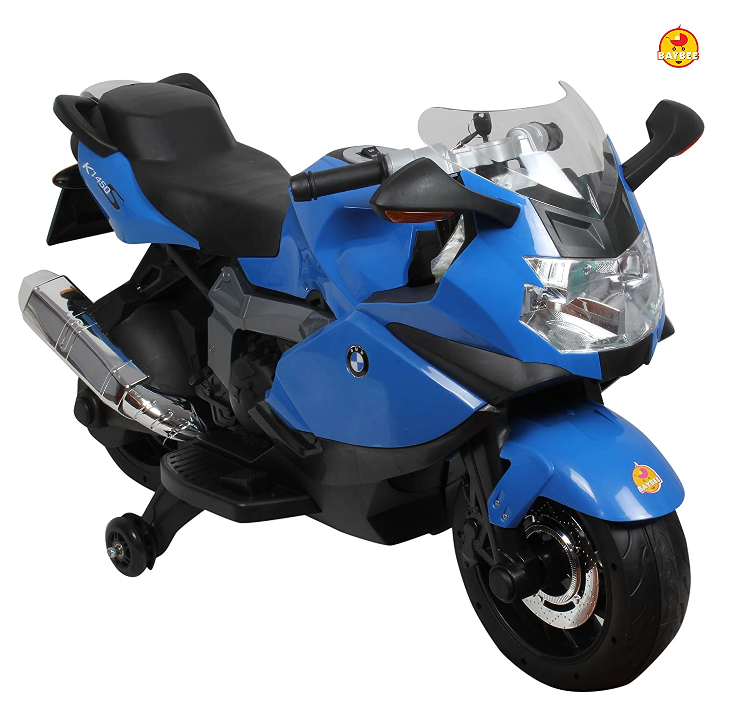 Buy Baybee Officially Licensed Bmw Battery Operated Bike Blue Online At Low Prices In India Amazon In