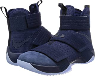 Nike Men's Lebron Soldier 10 Basketball Shoes, Navy blue, 11 D(M) US