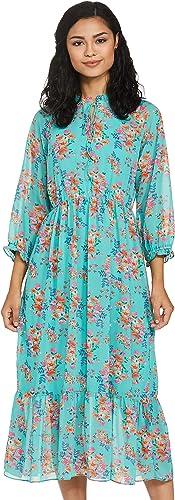 Georgette Empire Dress
