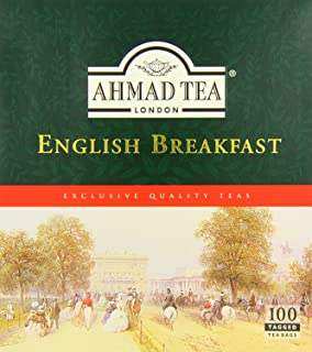 Ahmad Tea English Breakfast, 100Count