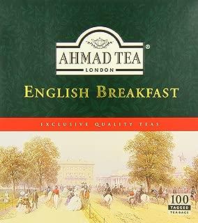Ahmad Tea English Breakfast (Pack of 1, Total 100 Tea Bags)