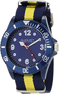 August Steiner Kids' AS8061BU Juniors Quartz Nylon Strap Sport Watch