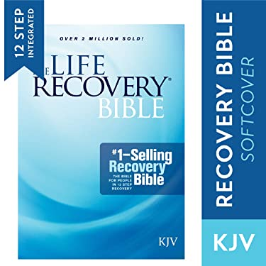 Tyndale KJV Life Recovery Bible (Softcover): Addiction Bible Tied to 12 Steps of Recovery for Help with Drugs, Alcohol and Personal Struggles – Easy to Follow King James Version Life Recovery Guide