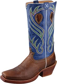 Twisted X Men's Burgundy River Cowboy Boot Square Toe - Mrr0010