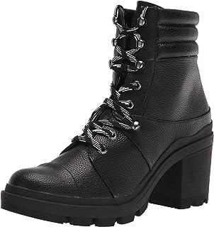 Rampage Women's Moto Motorcycle Boot, Black, 7