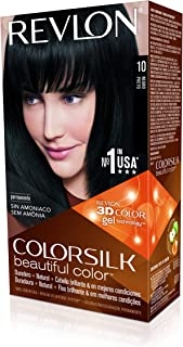Revlon Colorsilk Permanent Haircolor, 10 Black 1 ea