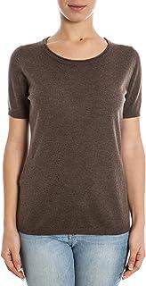 Lagnamelagna Cachemire - La21 - T-Shirt Manica Corta 100% Puro Cashmere Certificato. Fatto in Italia.