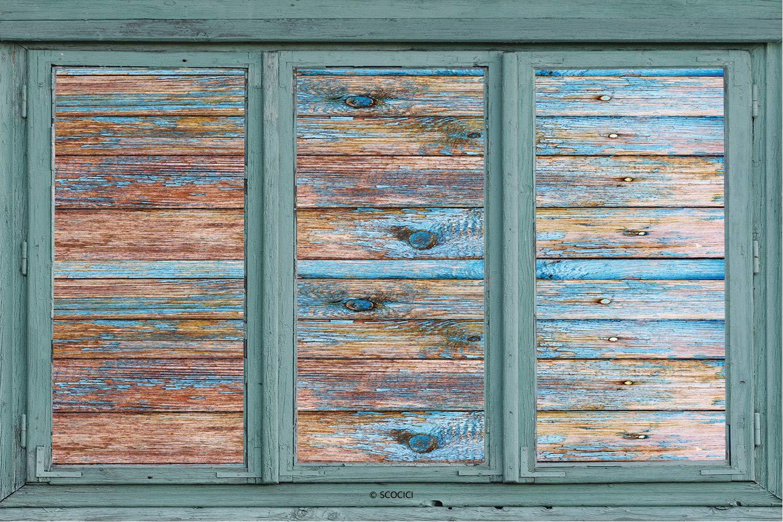 Fall Sale CGSignLab 36x24 Nautical Wood Window Cling