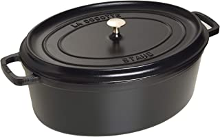 Staub Cocotte Oval 31cm Black