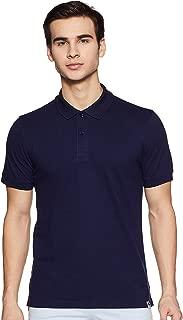 Amazon Brand - Symbol Men's Regular Fit Cotton Polo