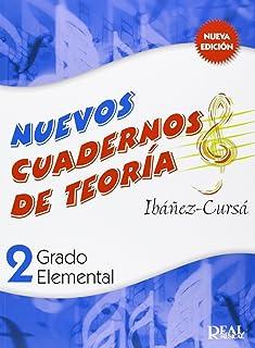 Cuadernos de Teoría, Grado Elemental Volumen 2 (RM Teoria de la musica)