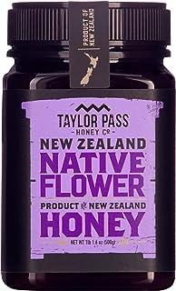 Sponsored Ad - Taylor Pass Honey Co Native Flower Honey Raw Healthy Delicious New Zealand Honey Non-Gmo (1lb 1.6oz)