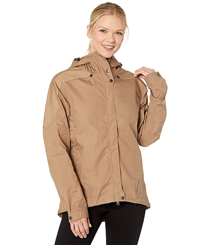 Fjallraven Skogso Jacket (Dark Sand) Women