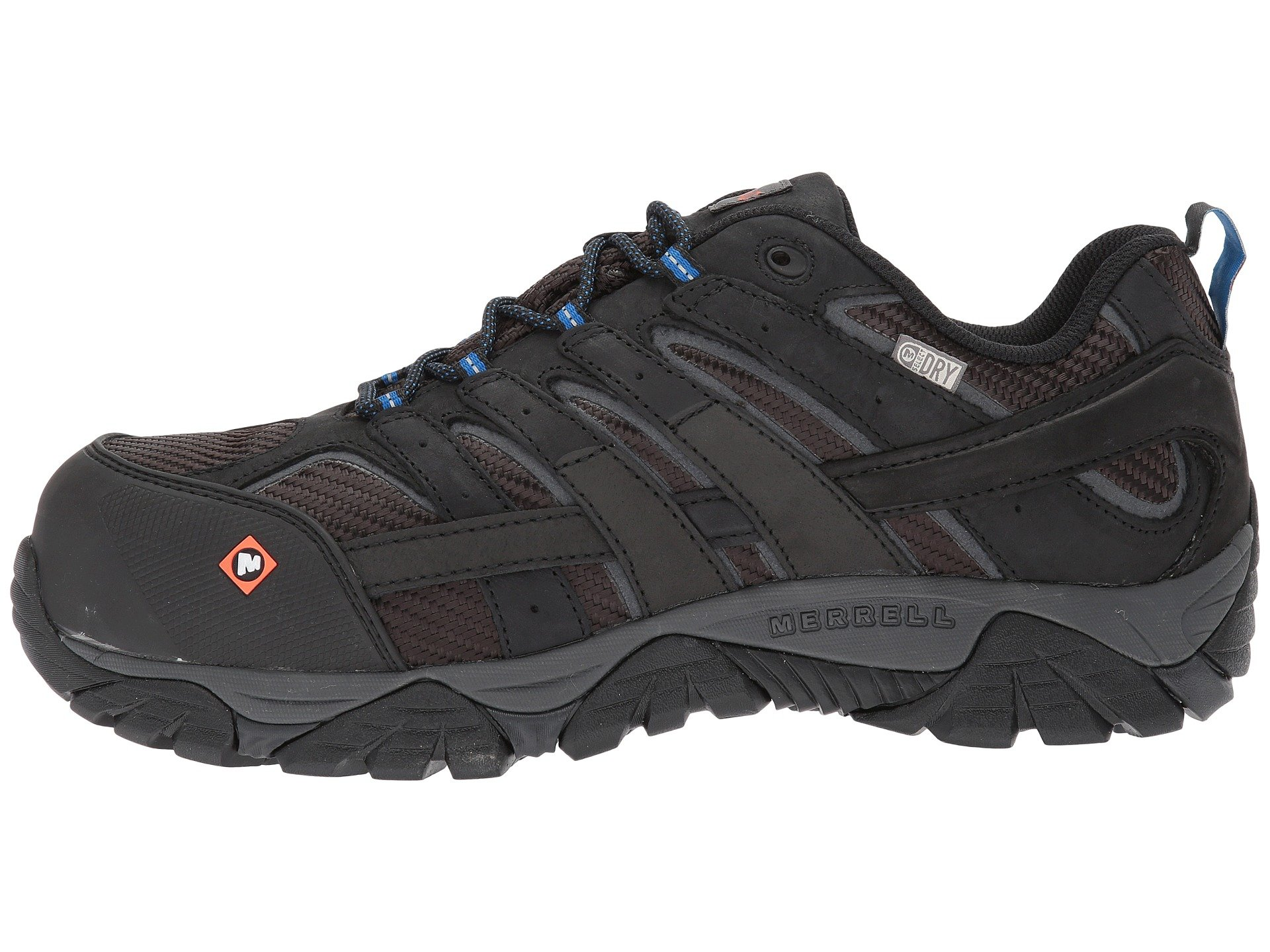 Merrell Work Moab 2 Vent Waterproof CT at Zappos.com