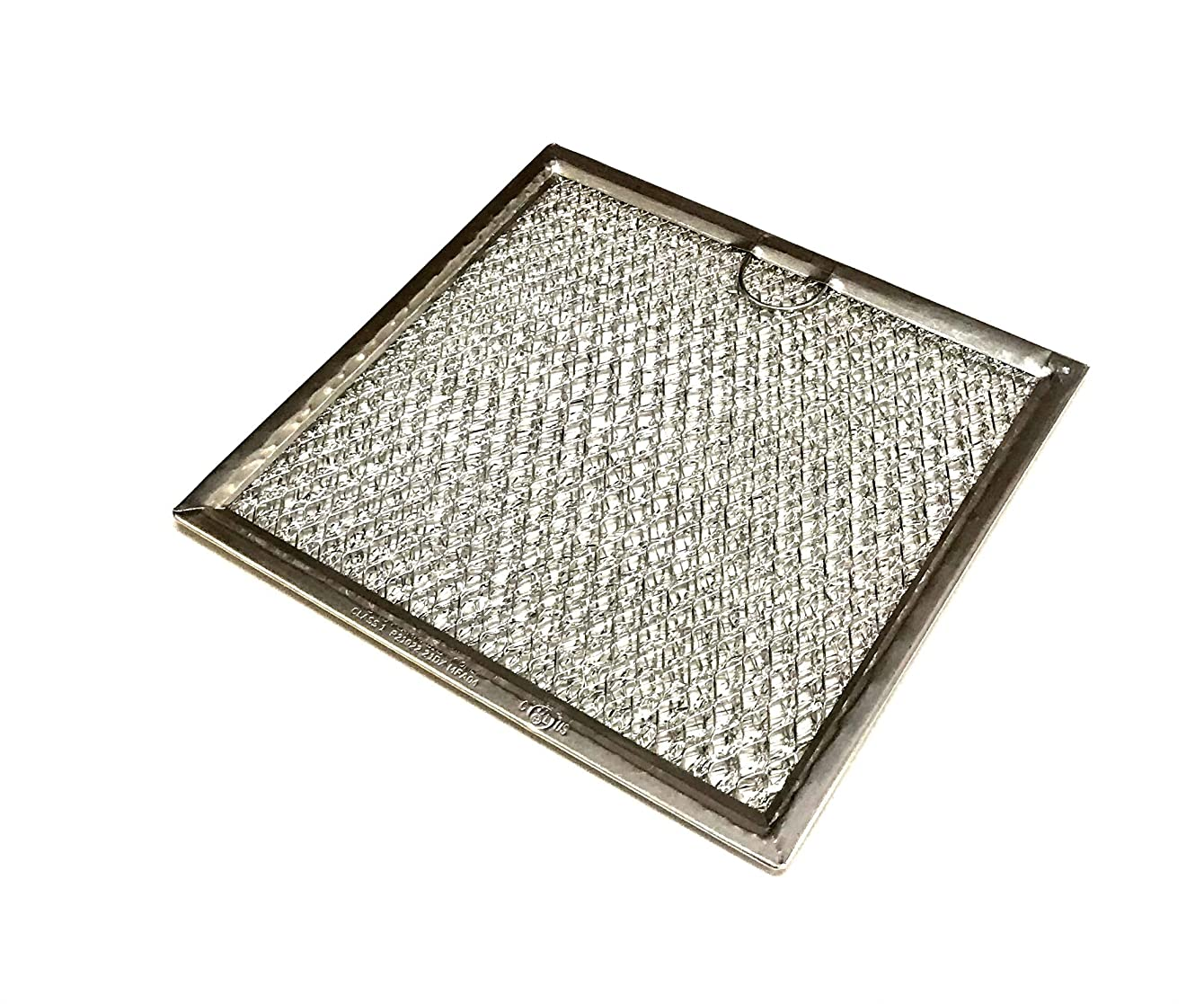 OEM GE Microwave Grease Filter Shipped with JVM7195RF1SB, JVM7195RF1SS, JVM7195RK1SS, JVM7195SF1SS, JVM7195SK1SS