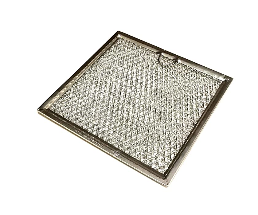 OEM GE Microwave Grease Filter Shipped with DVM7195EK1ES, DVM7195EK2ES, DVM7195EK3ES, DVM7195FL1DS, DVM7195SF1SS