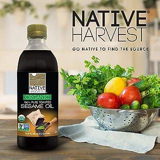Native Harvest Organic Non-GMO Sesame Oil, 500ML (16 FL OZ)