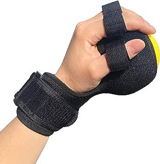 Anti-Spasticity Ball Splint & Finger Posture Corrector for Stroke Hand, Functional Split-fingered Hand Wrist Support, Orthosis Rehabilitation For Impairment/Hemiplegia/Stiff Fingers