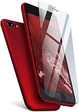MoEx - Carcasa para iPhone 7 Plus y iPhone 8 Plus (incluye protector de pantalla)
