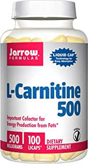 JARROW FORMULAS L-Carnitine Liquid Caps, 100 CT