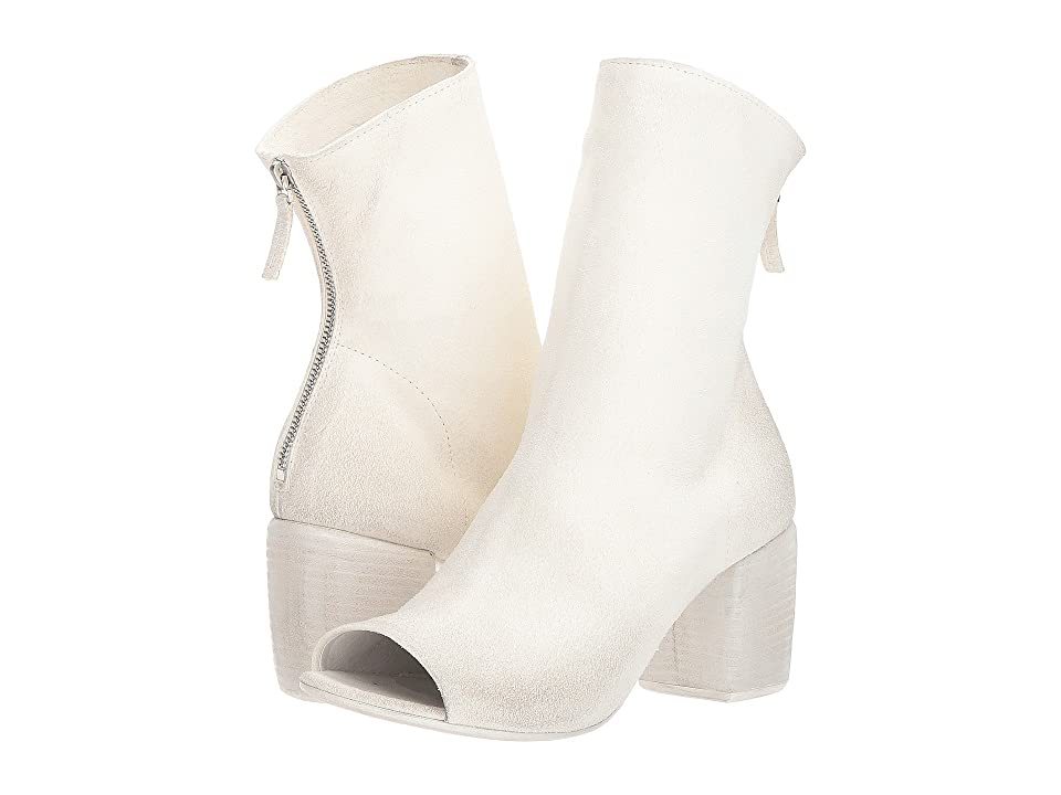 Marsell Open Toe Boot (White) Women