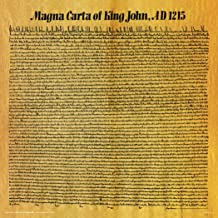 Magna Carta of King John AD 1215 Decorative Historical Educational Poster Print 12x12