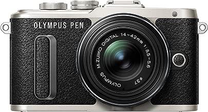 Olympus PEN E-PL8 Black Body with 14-42mm IIR Black Lens