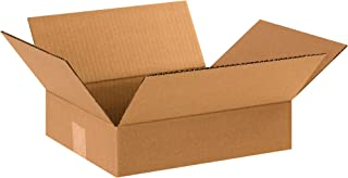 Boxes Fast BF12103 Corrugated Cardboard Flat Shipping Boxes, 12