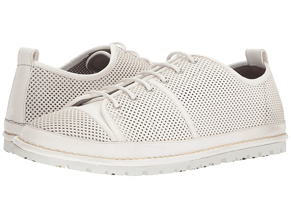 Marsell Gomme Perforated Sneaker (White) Men