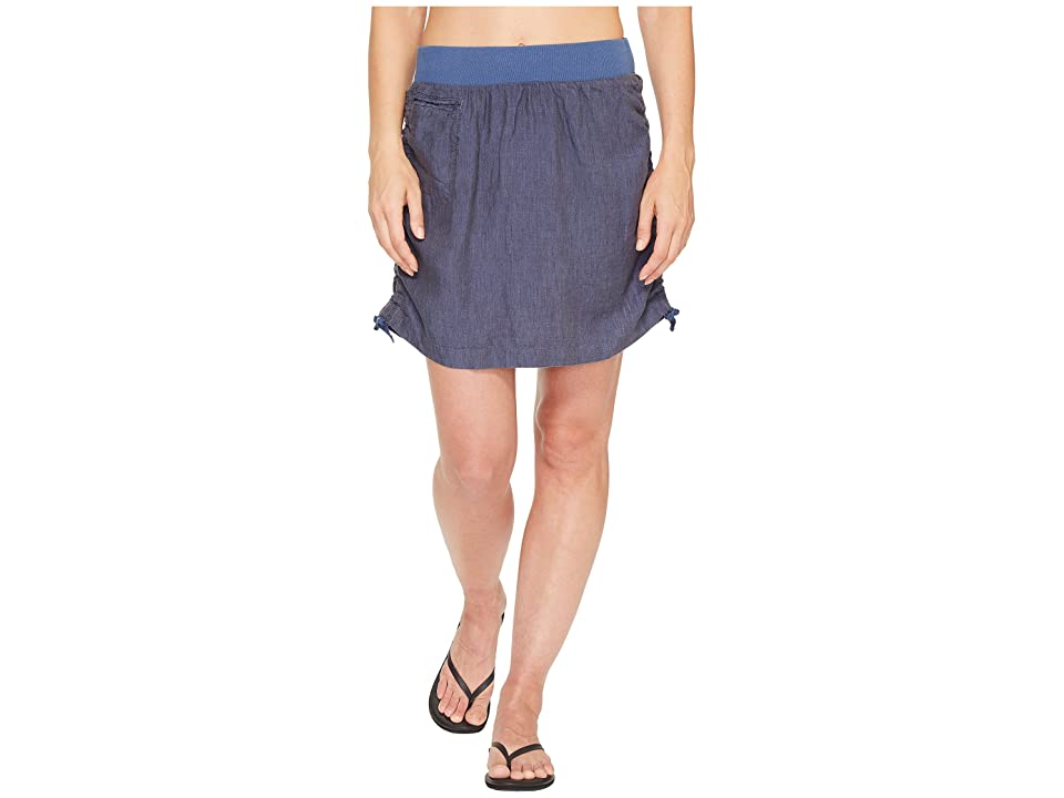 Toad&Co Lina Adjustable Skirt (Indigo) Women
