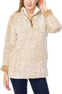 KAYLYN KAYDEN KLKD Women's Faux Fur Open Front Draped Vest
