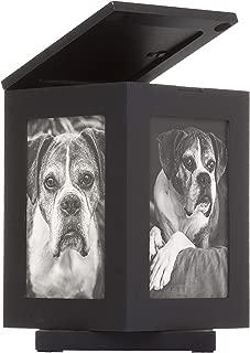 Black Rotating Pet Memory Box