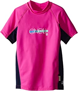 O'Neill Kids Skins Short Sleeve Crew (Little Kids/Big Kids)