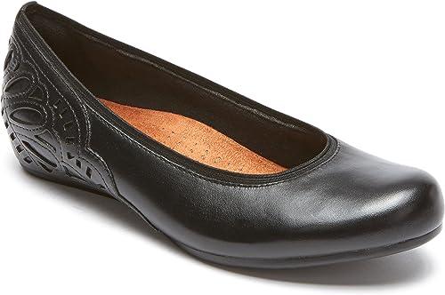 Rockport Cobb Hill Collection damen& 039;s Cobb Hill Sharleen Pump schwarz Leather 8 D US D - Wide