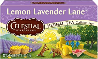 Sponsored Ad - Celestial Seasonings Herbal Tea, Lemon Lavender Lane, 20 Count (Pack of 6)