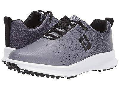 FootJoy FJ Leisure (Black/Charcoal) Women