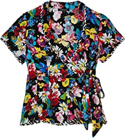 Bouquet Wrap Top