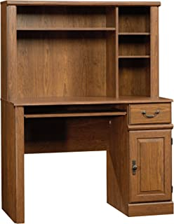 Sauder Orchard Hills Desk with Hutch, Milled Cherry finish