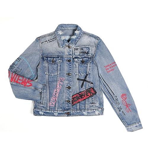 53a8920ba42 Dolcevida Women s Fashion Long Sleeves Jean Jacket Button Down Denim Coat
