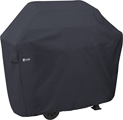 Classic Accessories 55-303-360401-00 Water-Resistant 38 Inch BBQ Grill Cover,Black,X-Small