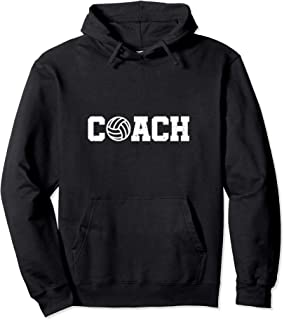 Volleyball Coach Team Drills For Men or Women Pullover Hoodie