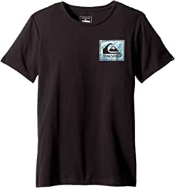 Quiksilver Kids - Short Sleeve Anti UV Volcano Blues Tee (Big Kids)