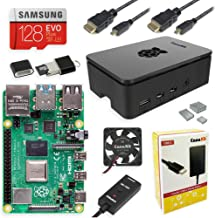 CanaKit Raspberry Pi 4 8GB Extreme Kit - 128GB Edition (8GB RAM)