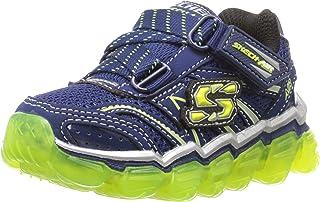 Skechers Equalizer 2.0-97384L Boys Toddler-Youth Sneaker 5 M US Big Kid Blue-Navy