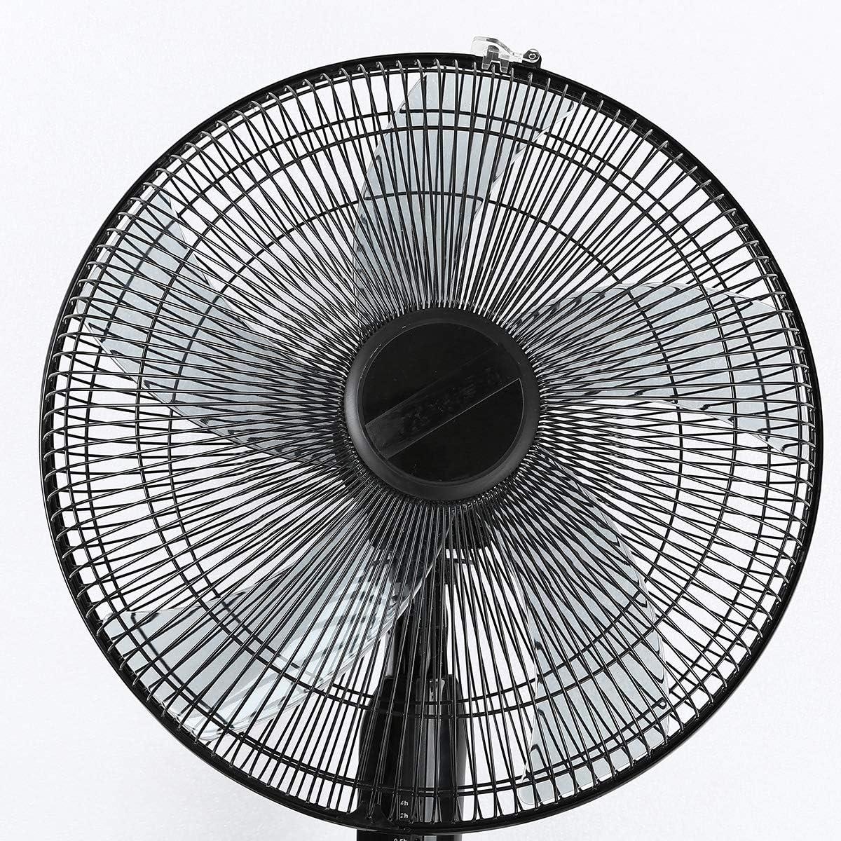 iixpin Aspas del Ventilador Aspas Hojas Pl/ásticas de Ventilador 12 Inch 14 Inch 16 Inch 18 Inch Repuestos Ventilador para Ventilador de Techo Ventilador de Pie Mesa Negro C One Size