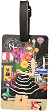 Nicole Lee Women's 2 Piece Luggage Bag Travel Tags